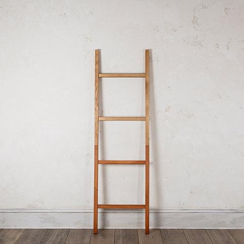 Artisan Blanket Ladder 50/50 Oak/Mahogany