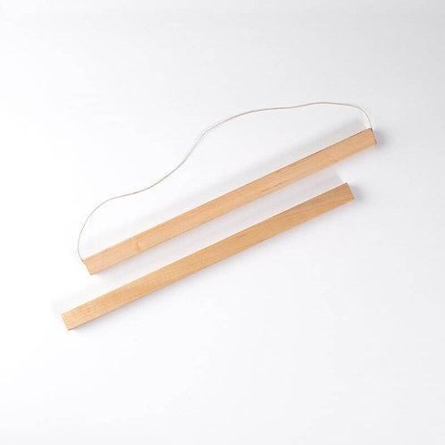 """Art Print Hanger Set in Maple (15"""")"""