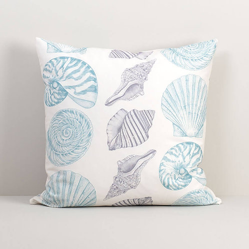Seashell March Pillow Cover