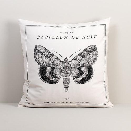 Papillon De Nuit Pillow Cover