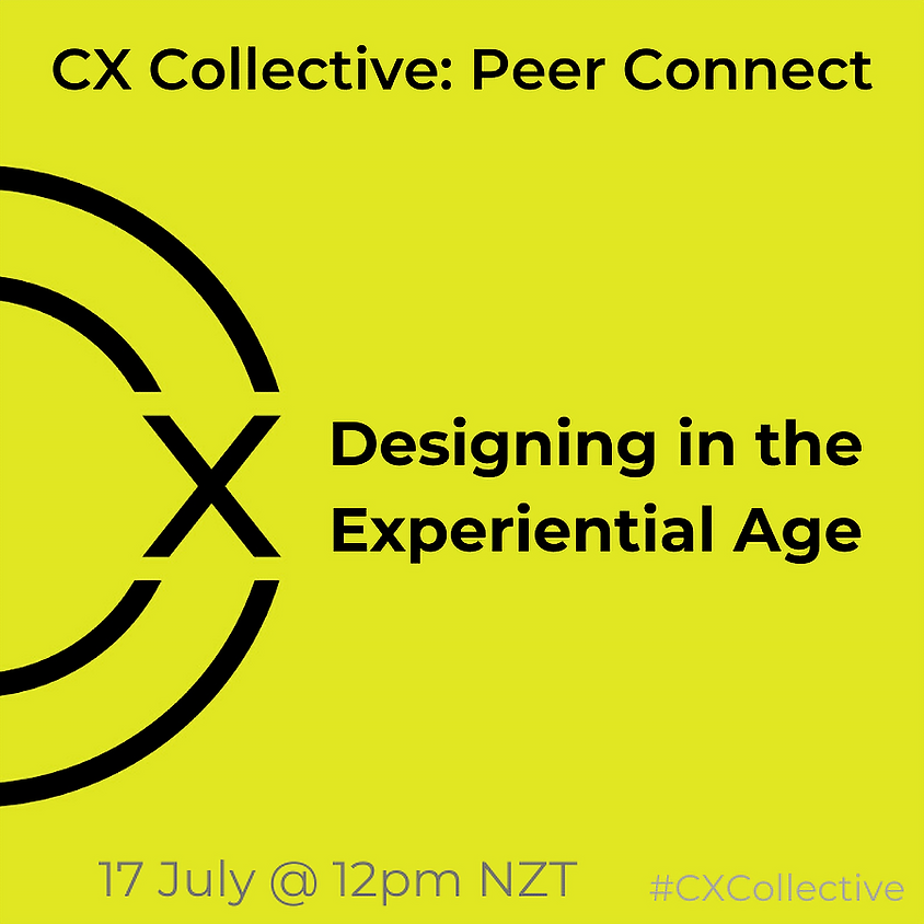 Designing in the Experiential Age