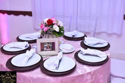 mesa convidados sousplat