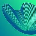 Wellenförmige Net