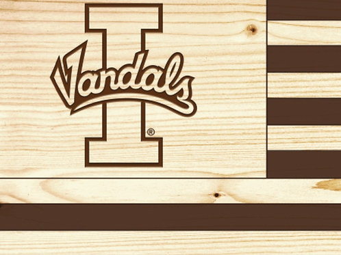 Idaho Vandals Flag - Small