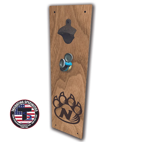 Northwest Missouri State Bobcats Magnetic Bottle Opener