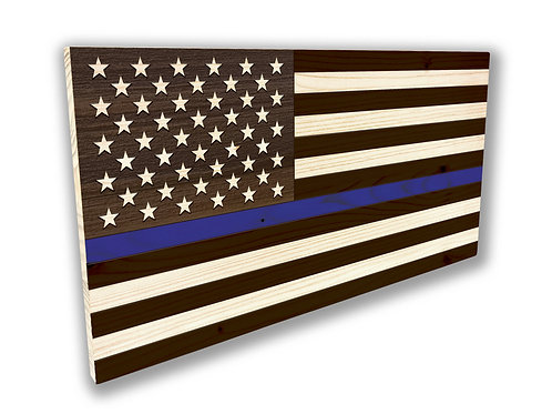 USA - BLUE Flag - Large
