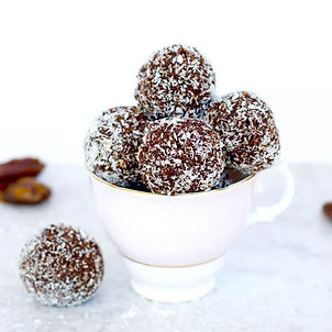 Vegan Chocolate Bliss Balls