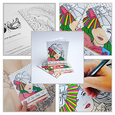 Come to Life Design First Colouring Book by NZ Artist Amanda Sears
