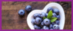 Charley's Shop Banner Image of Blueberries