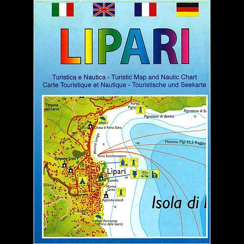 Lipari - carta turistica e nautica