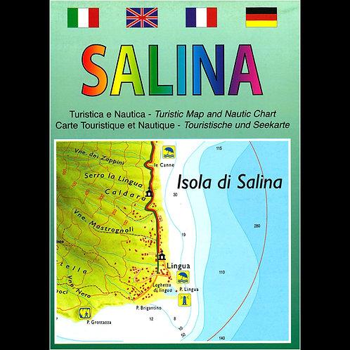 Salina - carta turistica e nautica