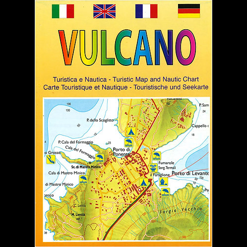 Vulcano - carta turistica e nautica