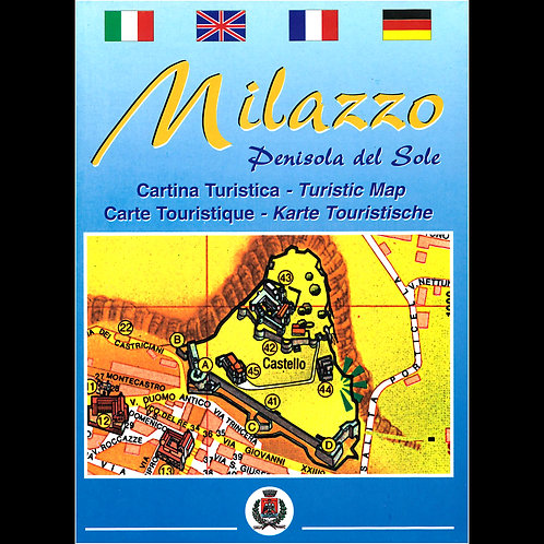 Milazzo, penisola del sole - carta turistica e nautica