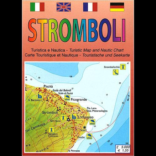 Stromboli - carta turistica e nautica