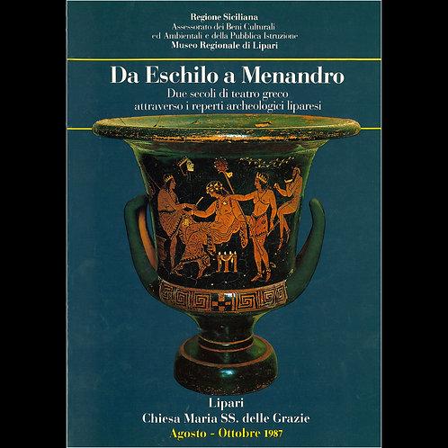 Da Eschilo a Menandro