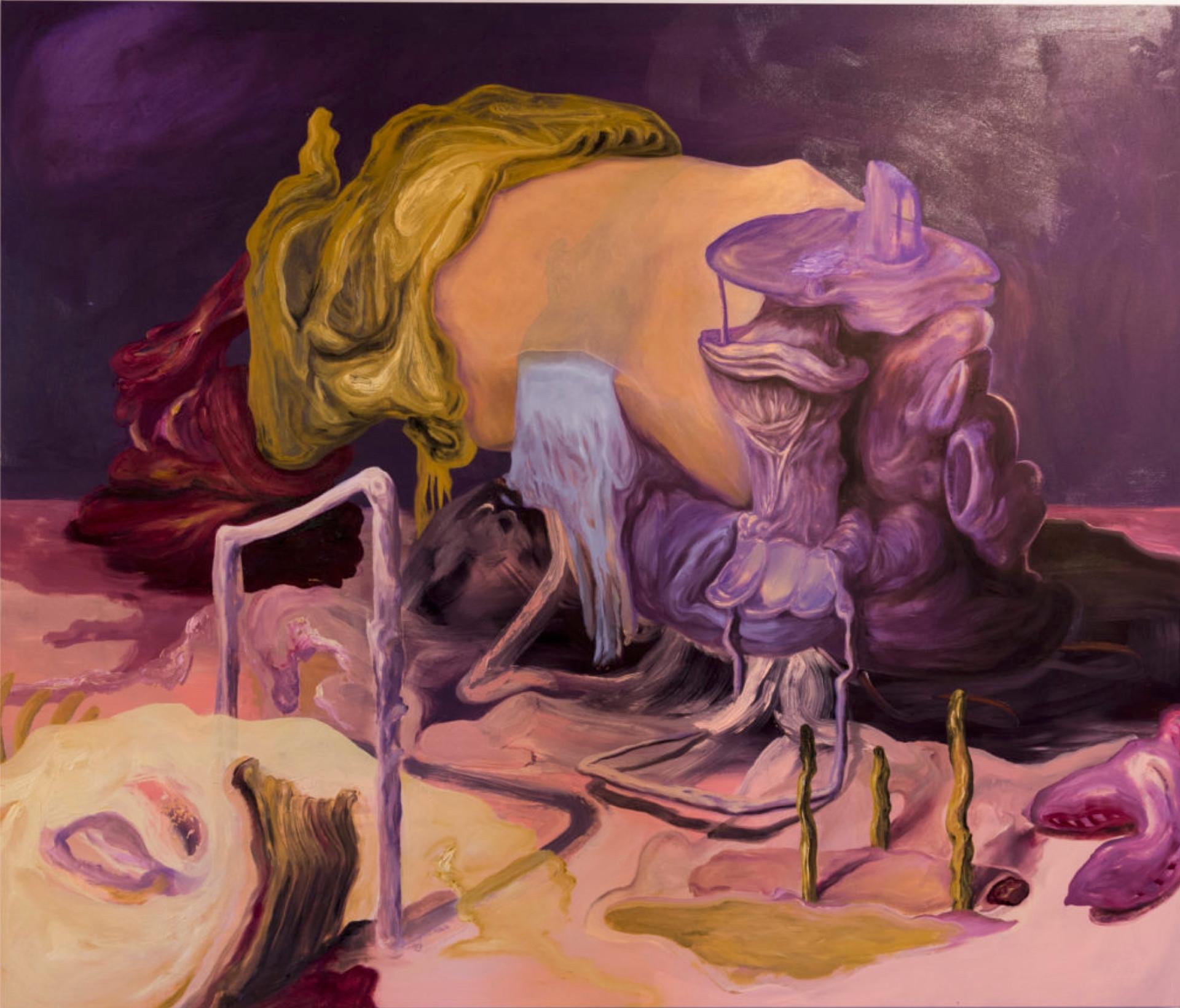 Rotten Rock #1, 2019 óleo sobre tela 170 x 200 cm