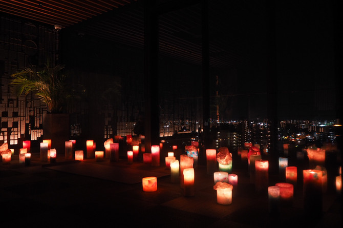 candle night ヨガ