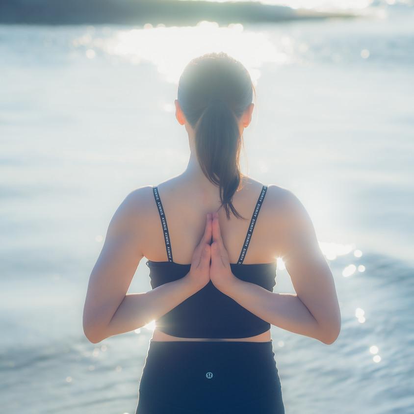 beach yoga ×モーニング