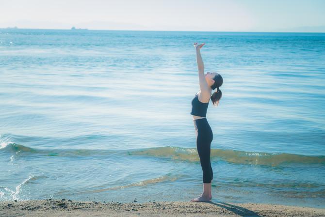 beach yoga 2021