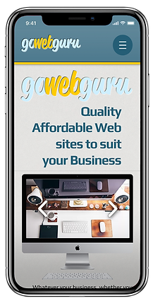 GoWebGuru mobile phone website