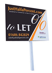 For Sale and To Let Signage Design and Print