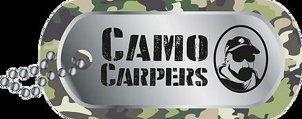 Camo Carper Tag Logo