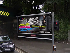 Dance Studio Billboard Graphic Design