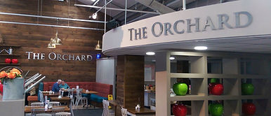 The Orchard Cafe Metal Letter Signage