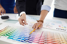 Spot Colours and Spot Varnished Labels