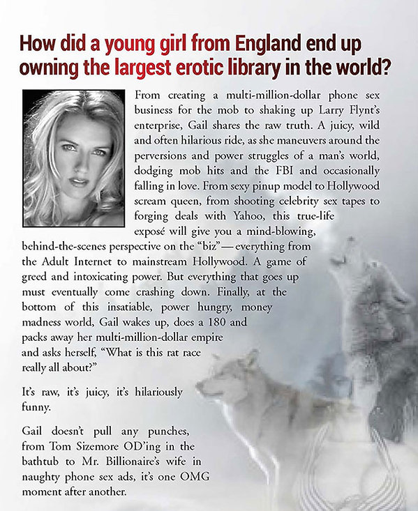 Gail Thackray | Running With Wolves | Book Back Cover