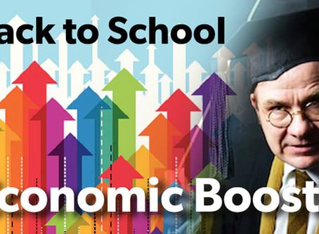 Back to school to boost economy