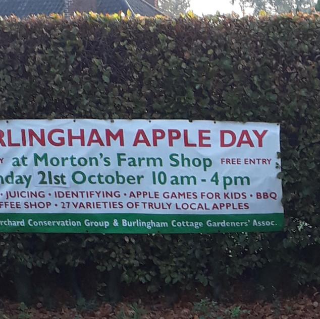 Burlingham Apple Day