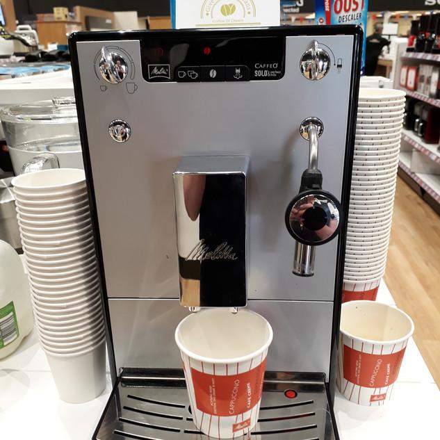 Melitta Caffeo Solo Bean to Cup Machine
