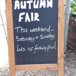 Wymondham Garden Centre Autumn Fair