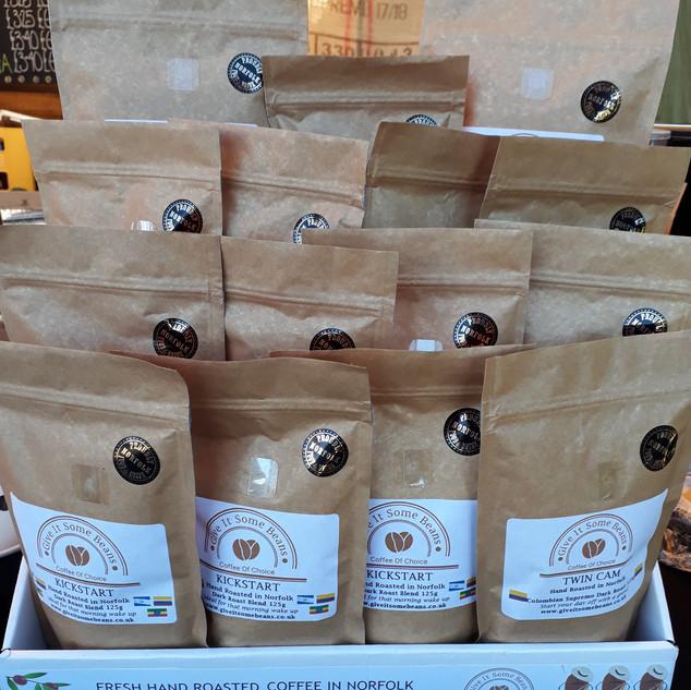 Dark Roast Coffee Selection
