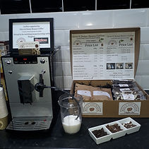 Hughes Electrical Store Mason Road Norwic- Give It Some Beans Coffee Demo with Melitta Bean to Cup Machines