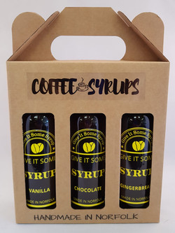 Coffee Syrup gift pack