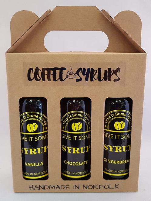 Coffee Syrup Set ( 3 x 245ml)