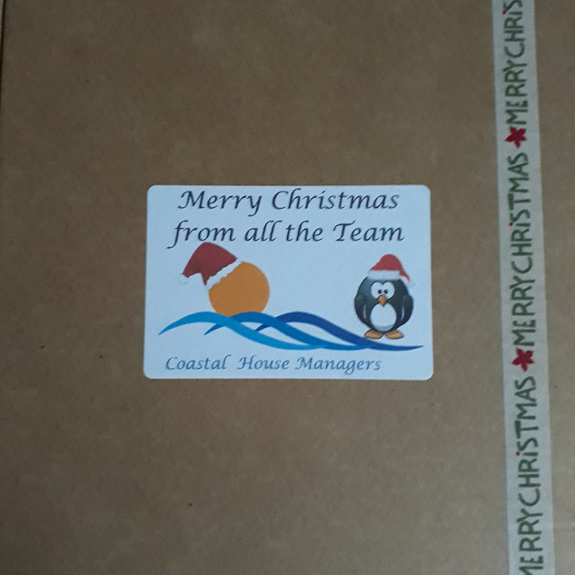 Coastal House Managers Christmas Coffee Gift Box