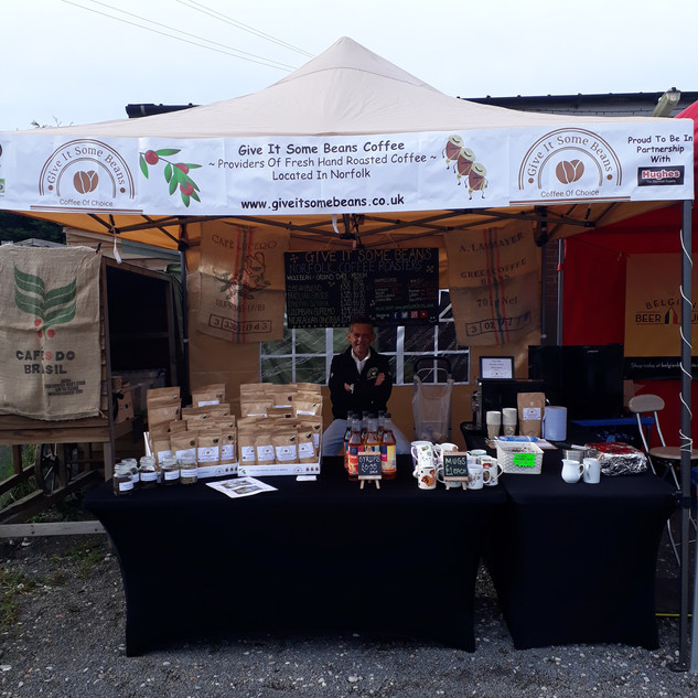 Give It Some Beans Coffee Outdoor Events