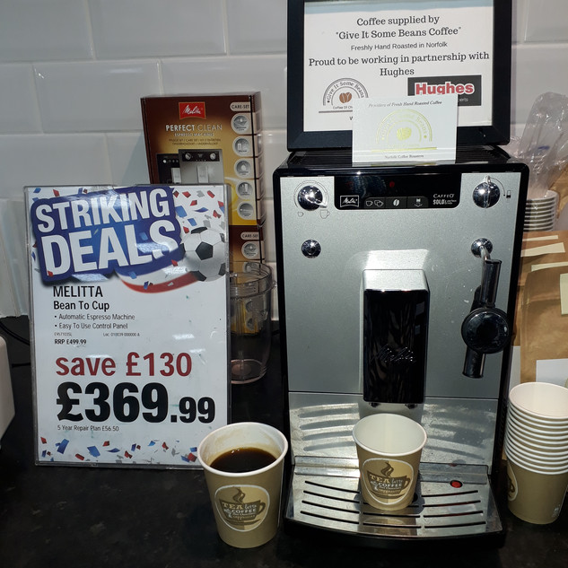 Melitta Caffee Solo Bean to Cup Machine