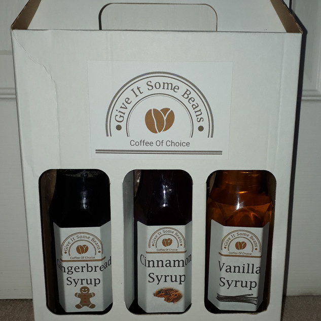 Coffee Syrup Gift Set