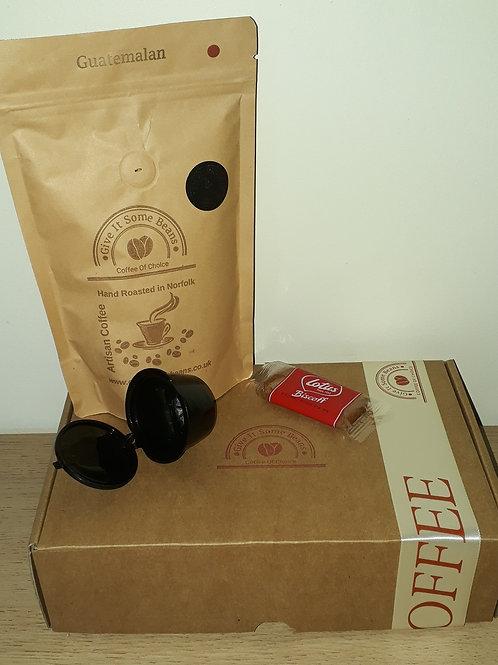 Reusable Pods & Coffee Set