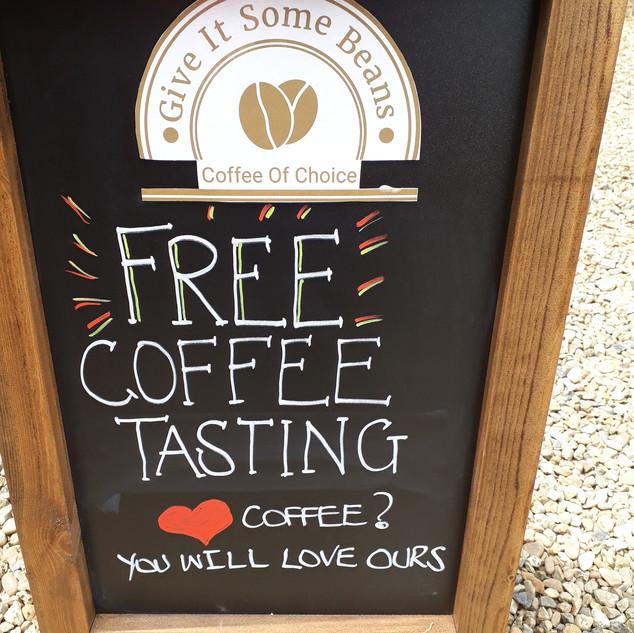 Free Coffee Tastings