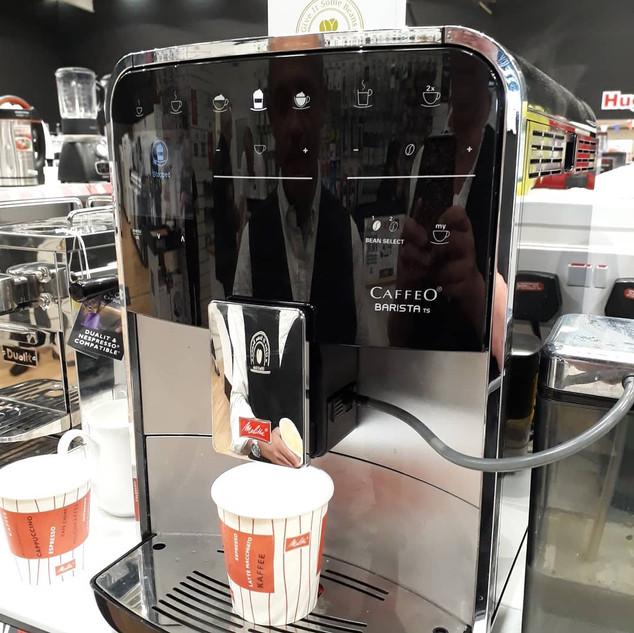 Melitta Caffeo Barista Coffee Machine