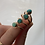 Thumbnail: Goldfill and turquoise rings