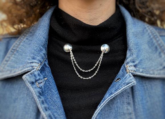 Silver Collar Tips