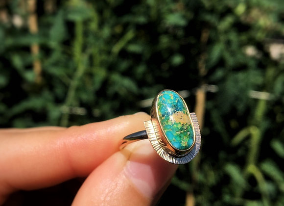 Sunburst Ring size 7.5