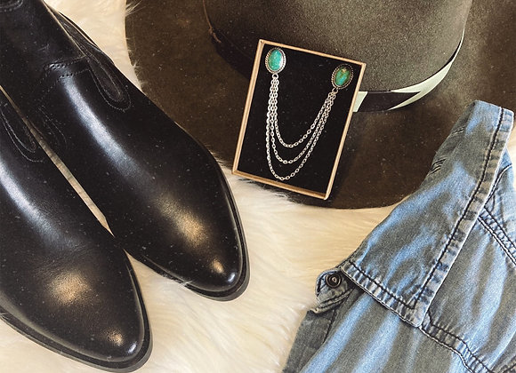 Turquoise Collar Tips