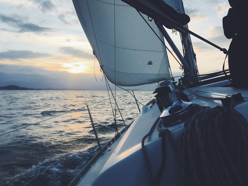 Photo: Sailing boat